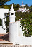 Unrecognizable Part of Residential House at Algarve, Portugal Royalty Free Stock Photography