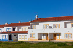 Unrecognizable Part of Residential House at Algarve, Portugal Royalty Free Stock Photos