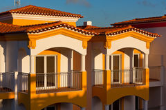 Unrecognizable Part of Residential House at Algarve, Portugal Stock Images