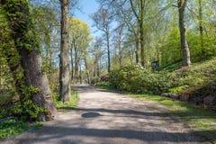 Spring atmosphere in Norrköping, Sweden Stock Photos