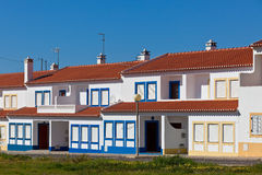 Unrecognizable Residential House at Algarve, Portugal Stock Photos