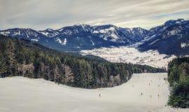 Ski Slope in Austria Stock Image