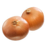 Unrefined onions Stock Photo