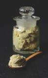 Unrefined shea butter Stock Image