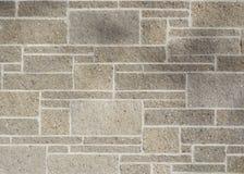 Unregelmäßige Block-Wand Stockfotografie