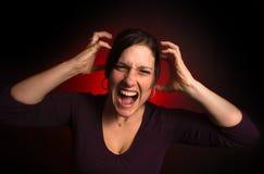 Unregelmäßiges weibliches Baumuster mit PMS Stockfotografie