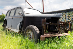 Unrestored classic car Royalty Free Stock Images