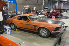 Unrestored mustang Stock Fotografie