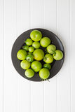 Unripe green tomatoes. Royalty Free Stock Photos