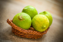 Unripe lemons Royalty Free Stock Photo