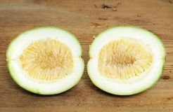 Unripe passion-fruit Royalty Free Stock Images