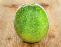 Unripe passion-fruit Royalty Free Stock Photos