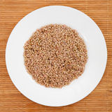 Unroasted buckwheat Royalty Free Stock Photography