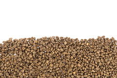Unroasted coffee beans Royalty Free Stock Image