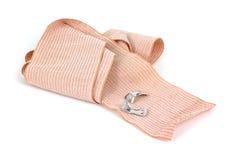 Unrolled elastic bandage Royalty Free Stock Photo