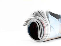 Unrolling Magazine Royalty Free Stock Image