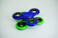 Unruhefinger-Spinnerdruck, Angstentlastungsspielzeug Stockfotografie