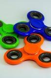 Unruhefinger-Spinnerdruck, Angstentlastungsspielzeug Lizenzfreie Stockfotos
