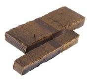 Dedo isolado do haxixe - 10 & 20 gramas Imagem de Stock Royalty Free