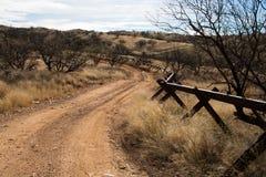 Uns-mexikanische Grenze, Sasabe, AZ, stockbilder