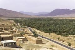 Uns oásis no deserto Imagem de Stock Royalty Free
