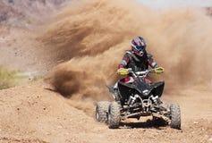 Uns quatro Wheeler Racer Practices em SARA Park Imagens de Stock