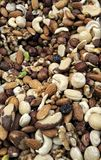 Unsalted Mixed Nuts Royalty Free Stock Image