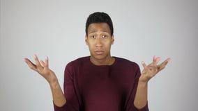 Unsatisfied  Man Reacting on Task Failure. Unsatisfied Designer, freelancer, engineer, student, start-up businessman, Man Reacting on Task Failure , creative stock video footage