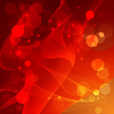 Unschärfe, abstrakter Hintergrund, Kreise der Leuchte. Lizenzfreie Stockfotografie