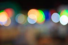 Unschärfe-Licht für Hintergrund Stockbilder