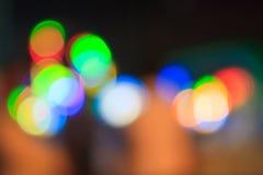 Unschärfe-Licht für Hintergrund Lizenzfreie Stockfotos