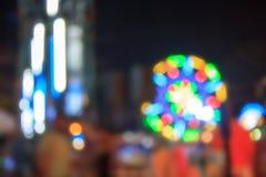 Unschärfe-Licht für Hintergrund Lizenzfreie Stockfotografie