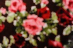 Unschärfeblumen-Fliesengewebe Lizenzfreie Stockfotografie