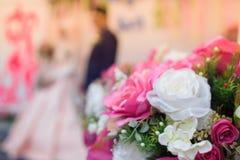 Unschärfeblumenstraußblume Stockbilder