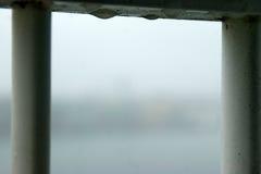 Unschärfefenster Stockfoto