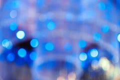 Unschärfekreislicht stockfotografie