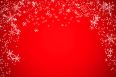 Unschärfeschnee bokeh Weihnachtshintergrund Lizenzfreie Stockfotos