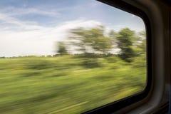 Unscharfe abstrakte Landschaft Lizenzfreies Stockfoto