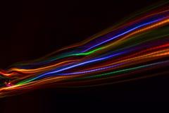 Unscharfe abstrakte Linie von LED-Licht lizenzfreie abbildung