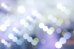 Unscharfe Farbe von LED-Lampe Lizenzfreies Stockfoto