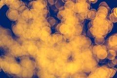 Unscharfe goldene bokeh Beschaffenheit viele Kreise, lizenzfreie stockfotografie