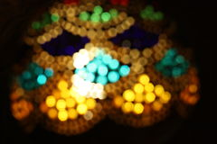 Unscharfe Lampe Stockfoto