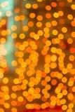 Unscharfe LED Lizenzfreies Stockbild