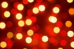 Unscharfe Leuchten. stockbilder