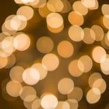 Unscharfe Lichter von den Feuerwerken Stockfoto