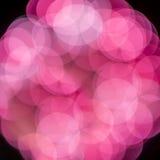 Unscharfe Lichter von den Feuerwerken Lizenzfreies Stockfoto