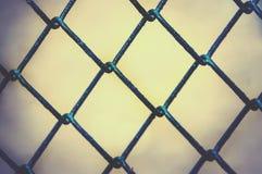 Unscharfe Metallkäfigbeschaffenheit Lizenzfreie Stockbilder