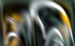 Unscharfe silberne gelbe bunte spielerische Blaue machen Wellenhintergrund, abstrakten Hintergrund glatt Lizenzfreie Stockfotos