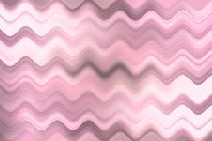 Unscharfe Wellenlinie, bunter abstrakter Hintergrund Lizenzfreies Stockfoto