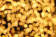 Unscharfer abstrakter goldener Hintergrund Lizenzfreie Stockfotos